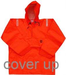 66ºNORTH EXTRA-HEAVY-DUTY ORANGE PVC SMOCK